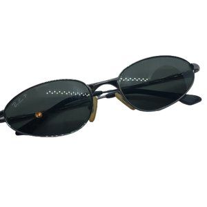 Ray Ban RB3164 Gunmetal Pre-owned Older Sunglasses